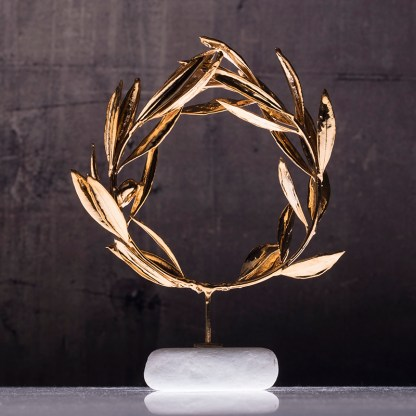 wreath olive gold plated Νο1