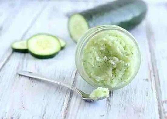 DIY Cucumber Mint Sugar Recipe
