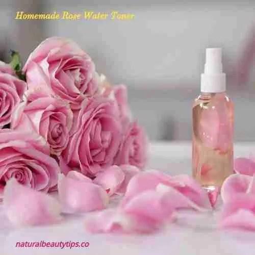 Homemade Rose Water Toner