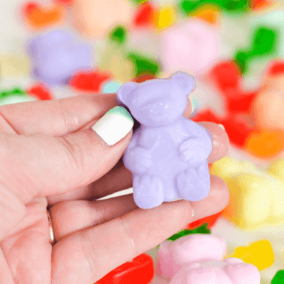 Gummy Bear Jelly Soaps