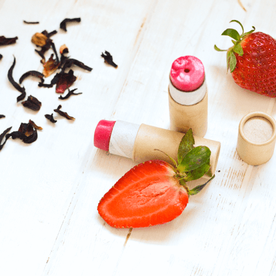 Strawberry Hibiscus Lip Balm