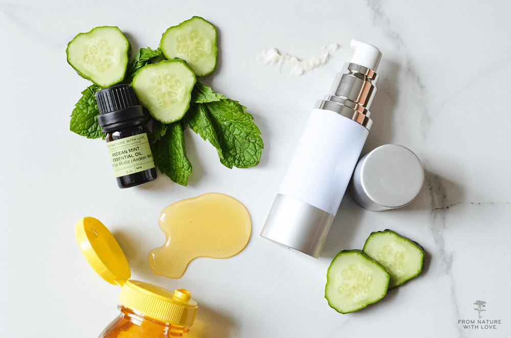 How to Make Honey Cucumber Facial Cream - Recipe and Tutorial