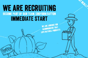 We are recruiting jobs