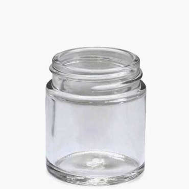 30ml Clear Glass jar is available from stock