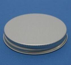 48mm aluminium lids with EPE liner