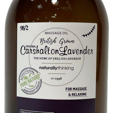 Original Carshalton Lavender Massage Oil