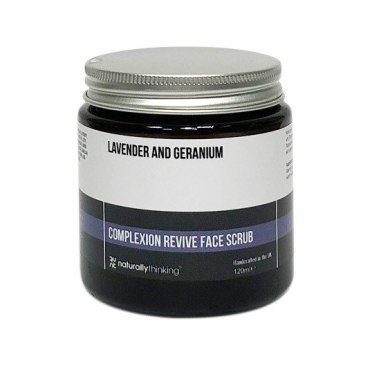 Lavender and Geranium Face Scrub to revive complexion