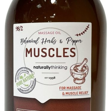 Muscle Massage Rub for Aches and Pains