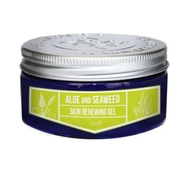 Aloe Vera Gel with harvested Seaweed extract for an antioxidant skin infusion of refreshment