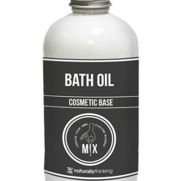 A luxurious bath oil base that disperses in the bath and combines with essential oil to provide bath time skin nourishment
