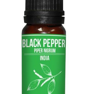 Black Pepper Essential Oil Piper nigrum for aromatherapy use
