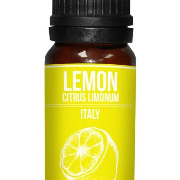 Lemon essential oil Citrus limon is available from stock