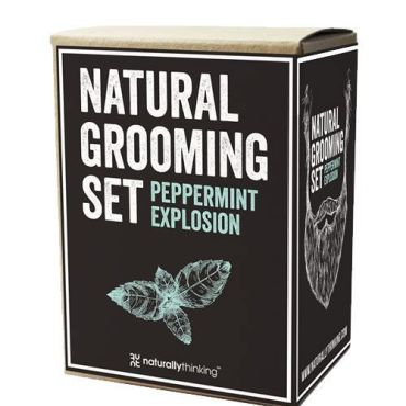 Peppermint Explosion Beard Oil set
