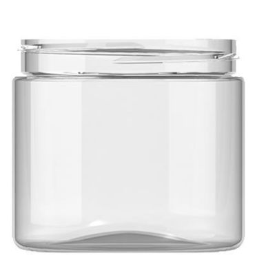 200ml Clear Plastic Jar with 70mm neck
