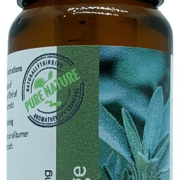 British Sage essential oil grown on the Surrey Hills, Banstead