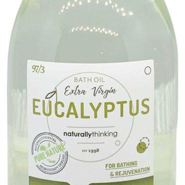 Eucalyptus aromatherapy bath oil to rejuvenate body and mind
