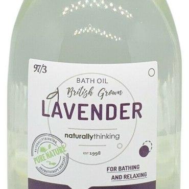 British Lavender aromatherapy bath oil