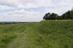 Rampart and ditch
