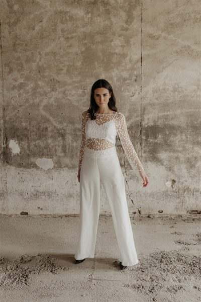 Pantalón para novia Alma