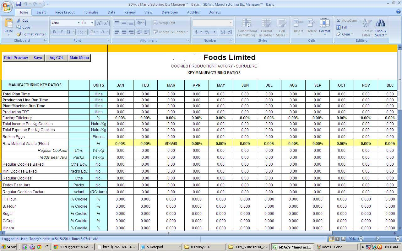 Vacation Time Accrual Spreadsheet