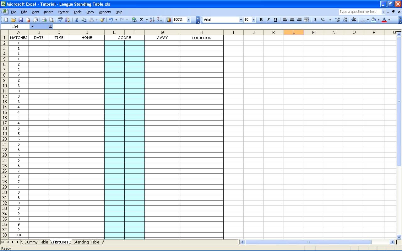 Biggest Loser Calculator Excel