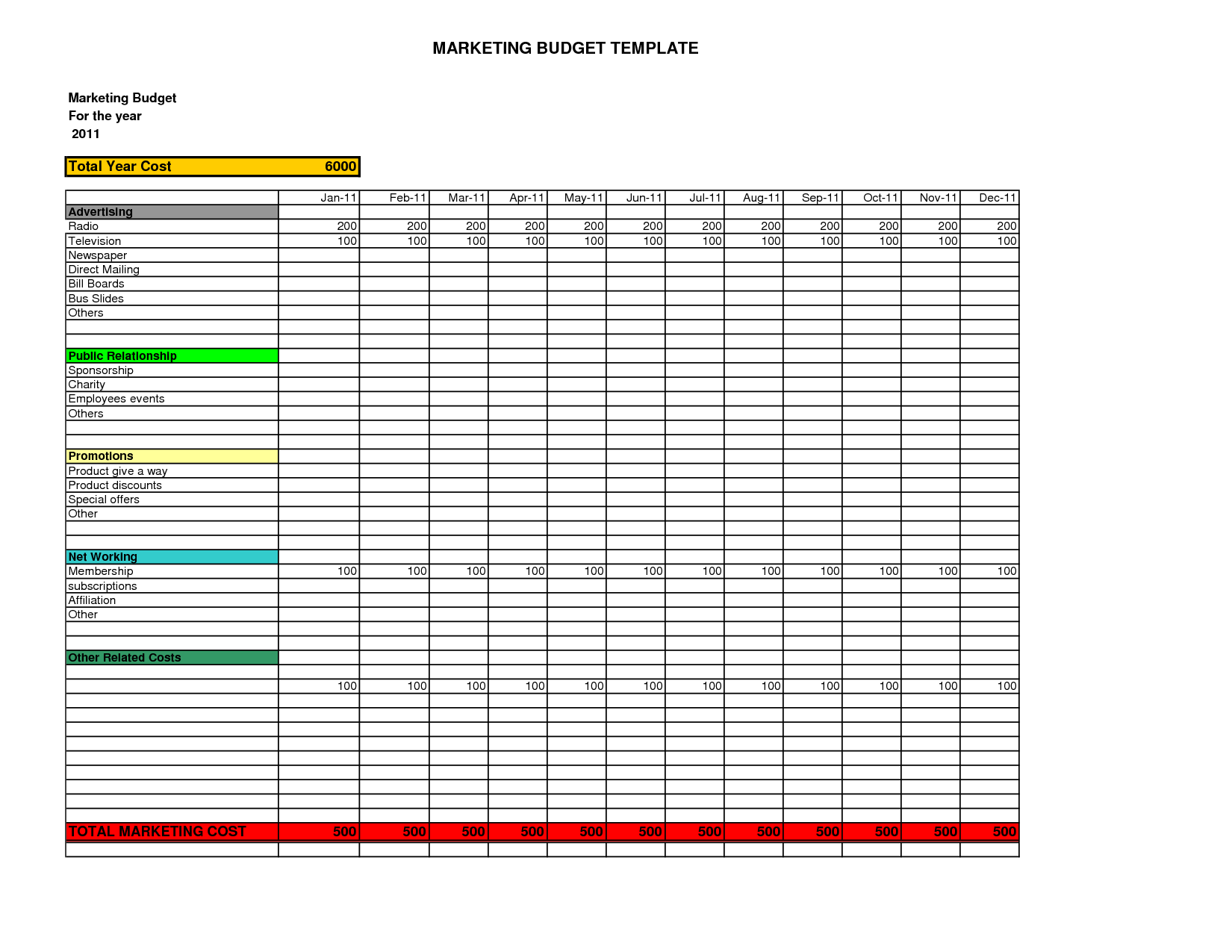 Family Budget Worksheet And Family Budget Spreadsheet