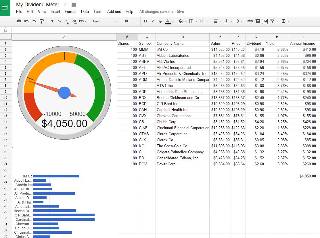 Roi Excel Spreadsheet Template