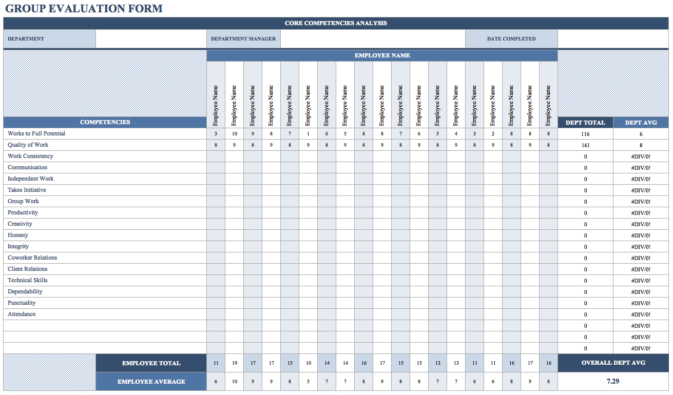 Employee Payroll Worksheet