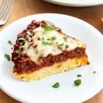 Vegan spaghetti squash pie recipe card pic