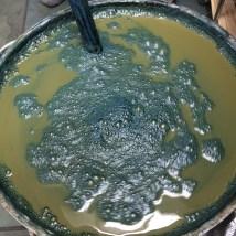 Detail of the vat. Photo Courtesy: Anu Ravi