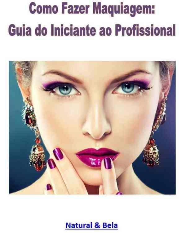 Foto mostrando a capa do Como Fazer Maquiagem: Guia do Iniciante ao Profissional