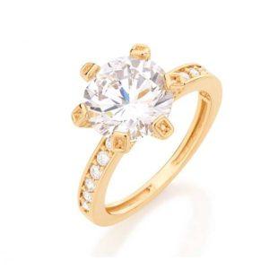 foto de anel de noivado