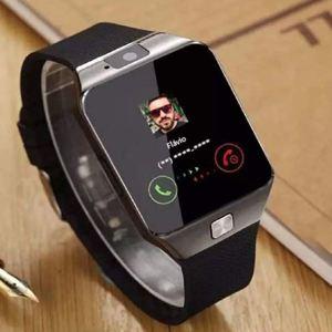 Relógio Celular Chip Smartwatch Gsm Touch Android Ios Dz09