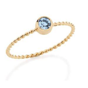 anel Rommanel solitário 512091