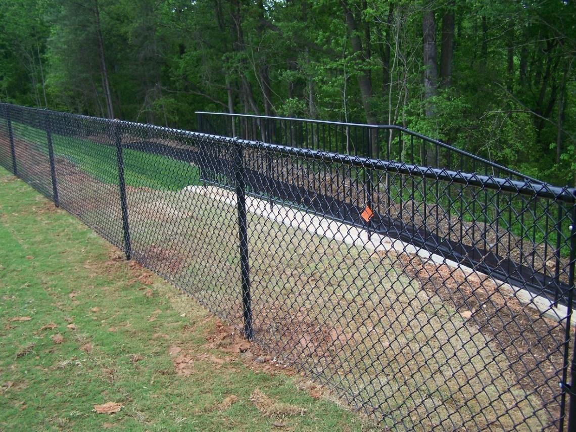 Image Result For Black Vinyl Chain Link Fence