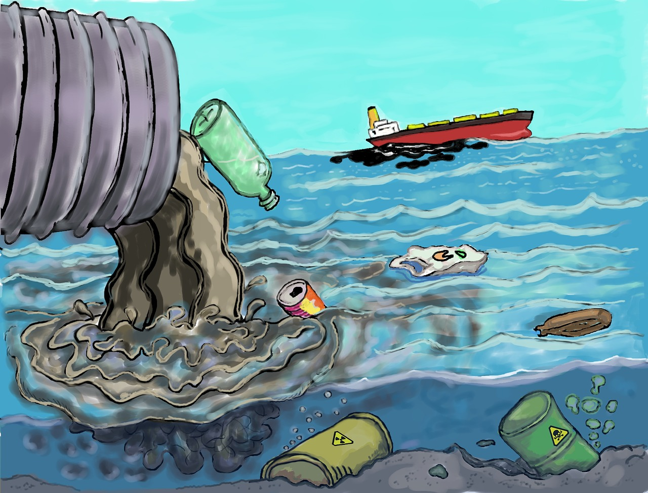 What Is Water Pollution And Its Causes Effects Types