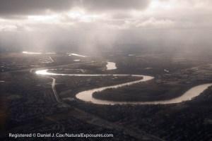 Aerial of Winnipeg Landscape