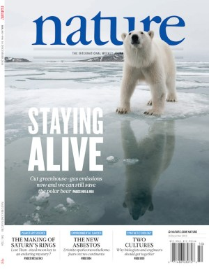 The Journal Nature featured an article by PBI Sr. Scientist Dr. Steven Amstrup. The front cover of the magazine used one of the images taken on assignment for the ARctic Documentary Project.