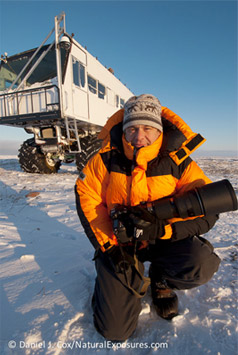 Daniel J. Cox in the arctic.