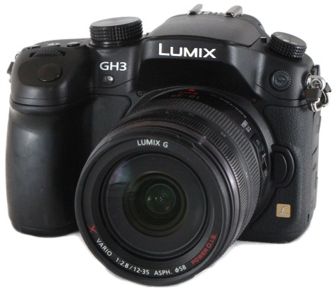 Panasonic's Lumix GH3. All our UK readers Try Before You Buy program just for you guys and gals. NIce idea