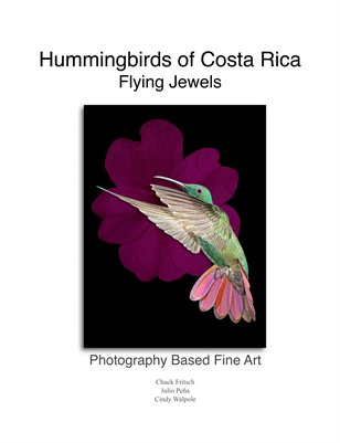 Cindy Walpole's Hummingbirds of Costa Rica, Flying Jewels book published through HP's MagCloud.