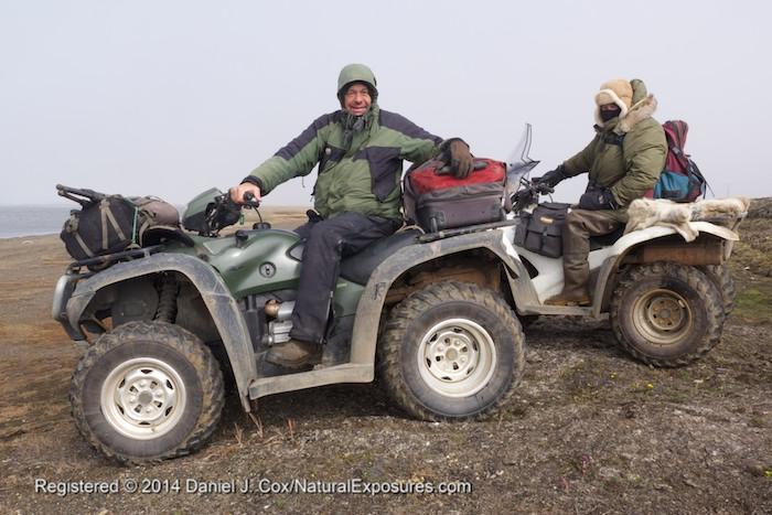 Daniel Cox and Denver Holt, Alaska.