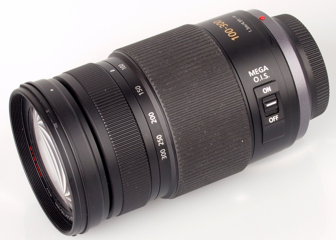 This is the Lumix 100-300mm F/4-5.6 zoom that I would love to see updated. It's a very good lens as is but a rework could make it equally stellar to the new 40-150mm Olympus.
