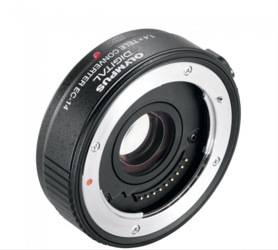 The diminutive 1.4X Olympus teleconverter that is matched to the 40-150mm F/2.8. It is incredibly sharp. So sharp I almost never remove from the 40-150mm preferring the reach of 420mm with this converter attached.