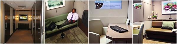 Minute Suites in Hartsfield-Jackson Atlanta International Airport. Photos: Minute Suite