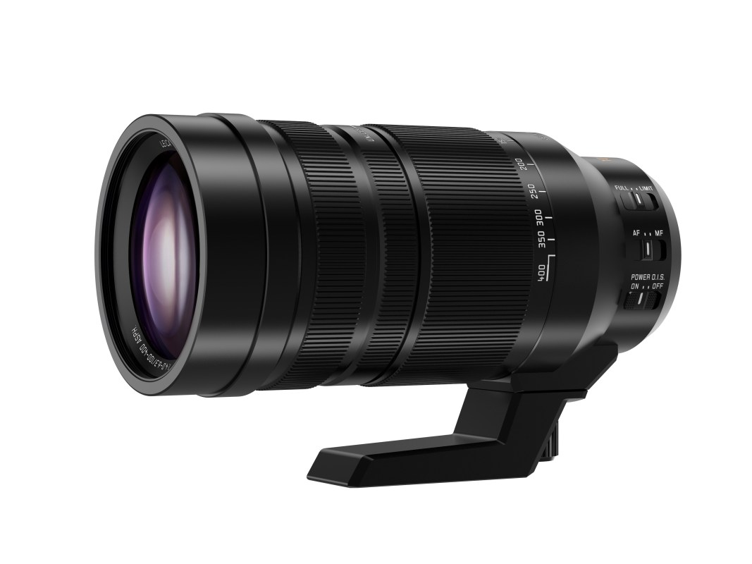 This is the lens I've been dreaming about. The Leica/Lumix 100-400mm F/4-6.3 super zoom. On my Lumix GH4 this will be the equivalent to a full frame 200-800mm lens. When Panasonic execs visited my office last month they told me I should be able to get my ands on the new lens by the end of December 2015. I hope that is the sales date for everybody as well.