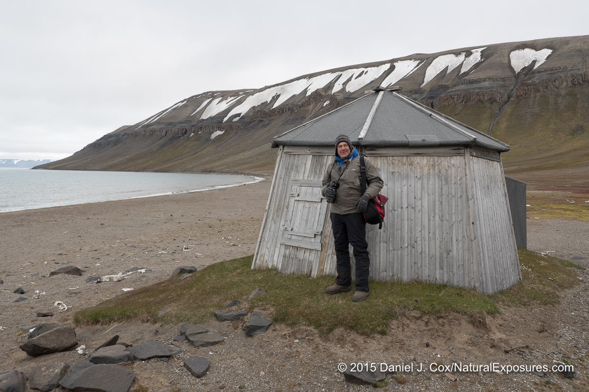 This little shack would have been a cold place to spend the winter hunting for polar bears.