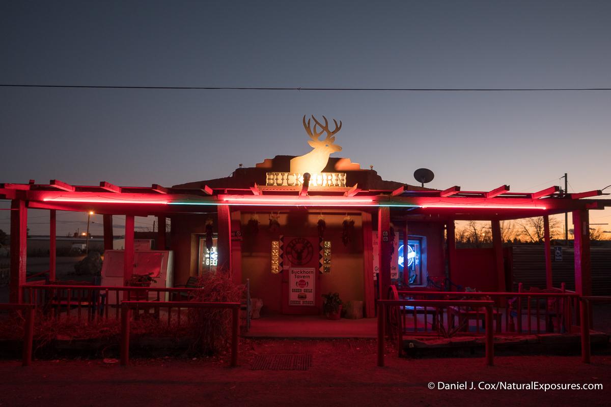 The Buckhorn tavern. San Antonio, New Mexico.