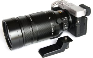 Lumix GX8 with 100-400mm Leica zoom.