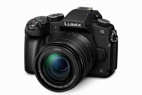 The recently announced Lumix G85 with 12mm-60mm kit lens.